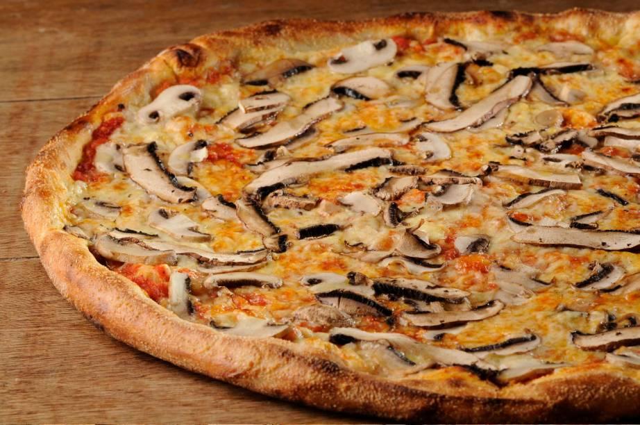 Pizza de cogumelo da Vezpa: agora também na Gávea