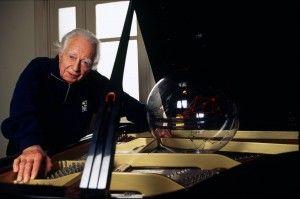 O maestro alemão em foto de Mario Leite: um nome importante para a música brasileira do século XX