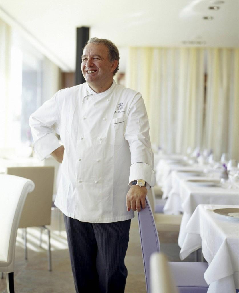 O chef Joachim Koerper: novamente estrelado pelo MIchellin