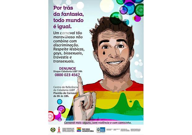 As peças publicitárias vão incluir dicas para o público homossexual, como<br>