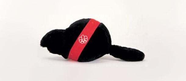 O castor Mik foi o mascote dos jogos que aconteceram no Canadá na década de 70<br>