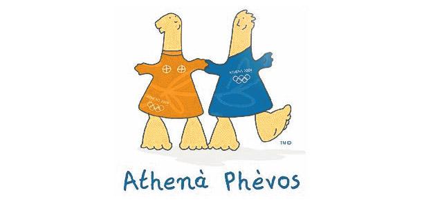 Phevos e Athenas eram irmãos, e foram inspirados em bonecos da Grécia Antiga<br>