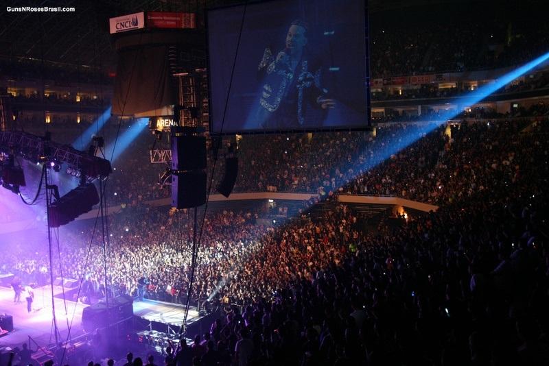 A banda se apresentou no México em 2007, lotando a Monterrey Arena<br>