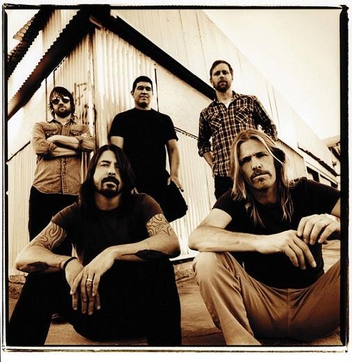 A banda Foo Fighters também marcou presença na última edição do festival<br>