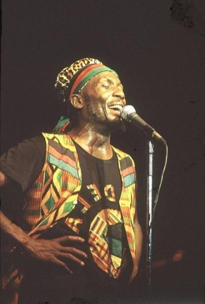 Show de Jimmy Cliff, músico jamaicano de reggae<br>