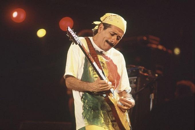 Show do lendário guitarrista mexicano Santana<br>