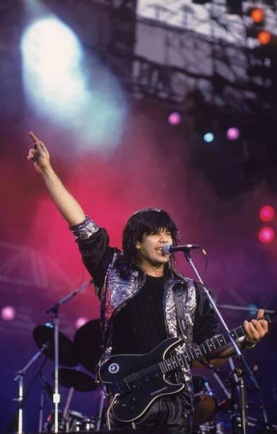 Show do Pepeu Gomes, que já havia tocado na edição de 1985 do festival<br>