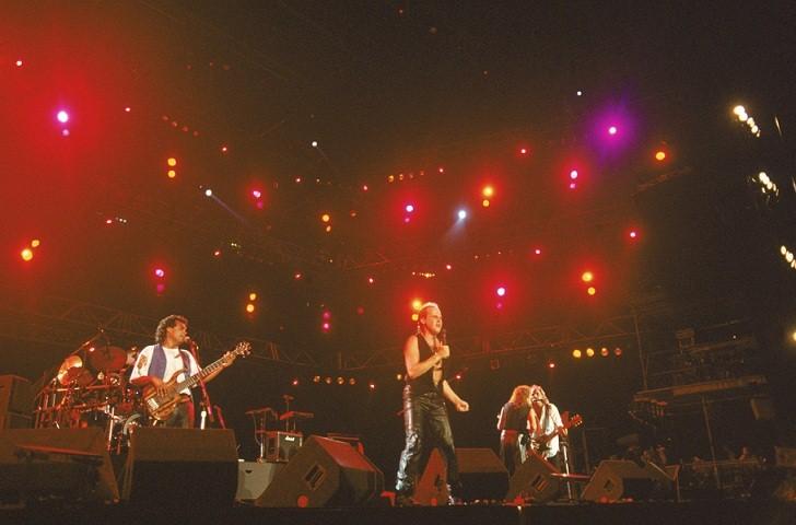 Show do Roupa Nova, banda ícone do pop rock no Brasil com mais de 20 anos de carreira<br>