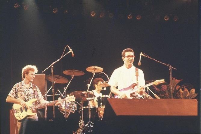 A banda Paralamas do Sucesso se consagrou nacionalmente np festival do rock<br>