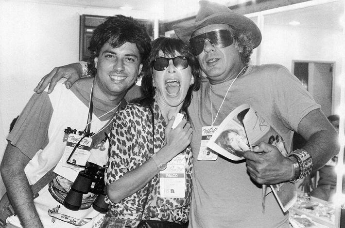 Roberto de Carvalho, Rita Lee e Erasmo Carlos juntos no Rock in Rio 85<br>