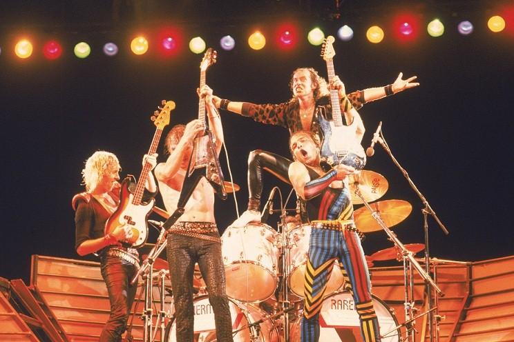 Show da banda alemã Scorpions<br>