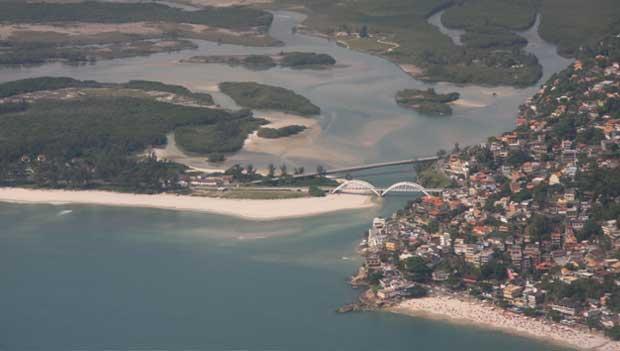 Pertencente à Marinha, tem 41 quilômetros de manguezais protegidos<br>