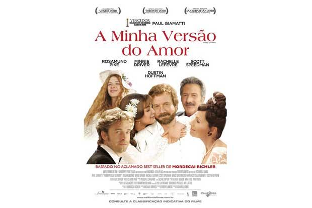 (Barney´s Version). A julgar pelo título, o filme parece ser do gênero comédia romântica, mas não é.<br>