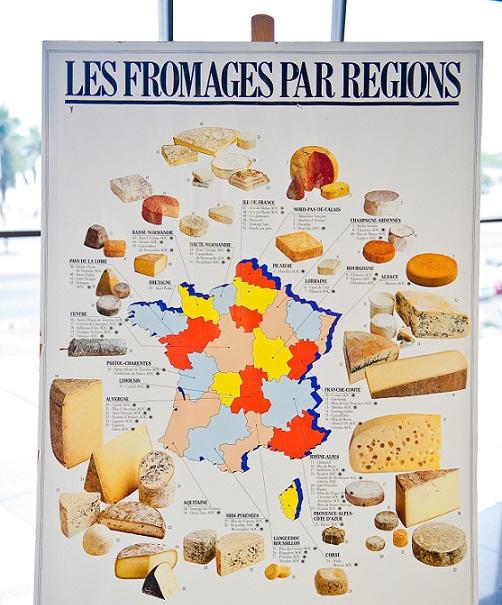Cada região da França produz uma variedade diferente, inclusive com certificado de origem e qualidade<br>