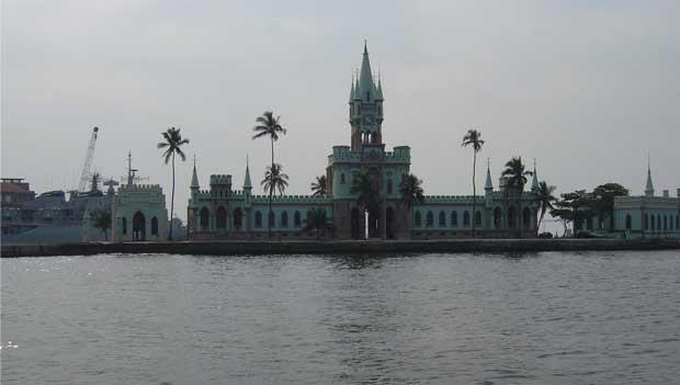 O castelinho era motivo de orgulho quando inaugurado por Dom Pedro II, em 1889<br>