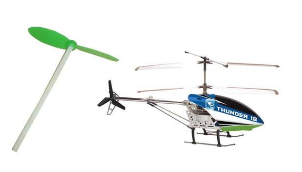 Hoje a meninada pode fazer os helicópteros de brinquedo voarem de verdade, com alta tecnologia e controle remoto. Mas na década de 80, o que voava não eram os helicópteros e sim o Pirocóptero. Era o palito de pirulito que saía voando ao ser girado. Não le<br>