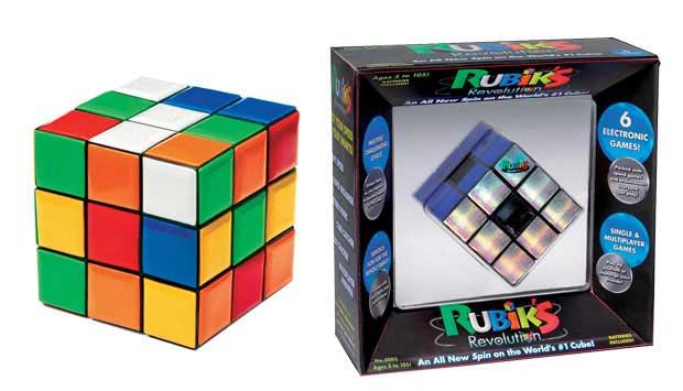 O quebra-cabeça tridimensional, Cubo Mágico, em que se deve deixar os lados de uma única cor, foi lançado em 1974 e virou um dos ícones da década de 80. Ele desafia adultos e crianças até hoje, mas também ganhou evoluções. A Bungee trouxe para o Brasil o<br>
