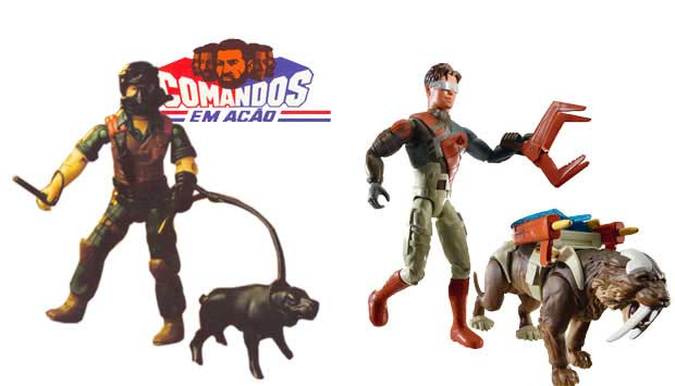 Os Comandos em Ação, lançados em 1982, foram os primeiros bonecos para meninos. Eram soldados e aventureiros que fizeram tanto sucesso a ponto de virarem desenho animado. Hoje, os bonecos visados pelos meninos são da série Max Steel, um agente secreto que<br>
