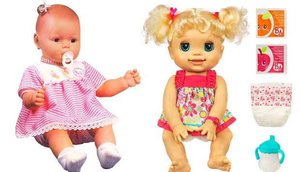 Em 1983 e 1984, chegou ao Brasil a primeira boneca com aparência de bebê de verdade, a Meu Bebê, da Estrela. Foi um sucesso, mas o com o tempo, as crianças quiseram mais do que apenas a aparência realista. Por isso, as bonecas atuais choram, riem, falam e<br>