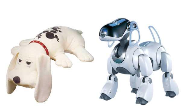 Ele tinha cara de pidão e conquistou as crianças da década de 80. Era o Snif Snif de pelúcia da Estrela. Já no final da década seguinte, houve uma revolução nos cãezinhos de brinquedo. A Sony lançou, em 1999, o Aibo, o cachorro robô que demonstra emoção.<br>