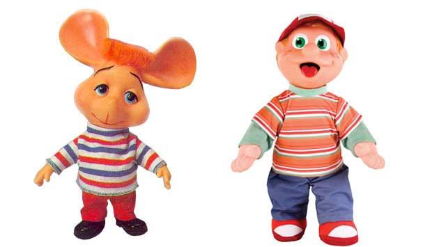 O ratinho Topo Gigio era um boneco de programa de televisão italiano que chegou ao Brasil em 1969. Vários produtos, como pelúcias e LPs, foram lançados na esteira do sucesso das telinhas. Em versão mais moderna, são os bonecos do programa Cocoricó,da TV C<br>