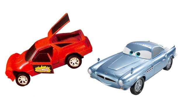 Nos anos 80, a novidade era o Trombada, carrinho que amassava quando batia em algo e bastava fechar as portas para ficar novinho em folha. Crianças modernas gostam das miniaturas inspiradas no filme Carros, como o Fin Mac Missile, que tem armas e equipa<br>