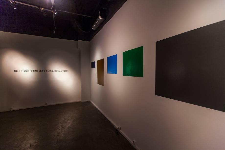 Obras de Alex Varella: poesia visual