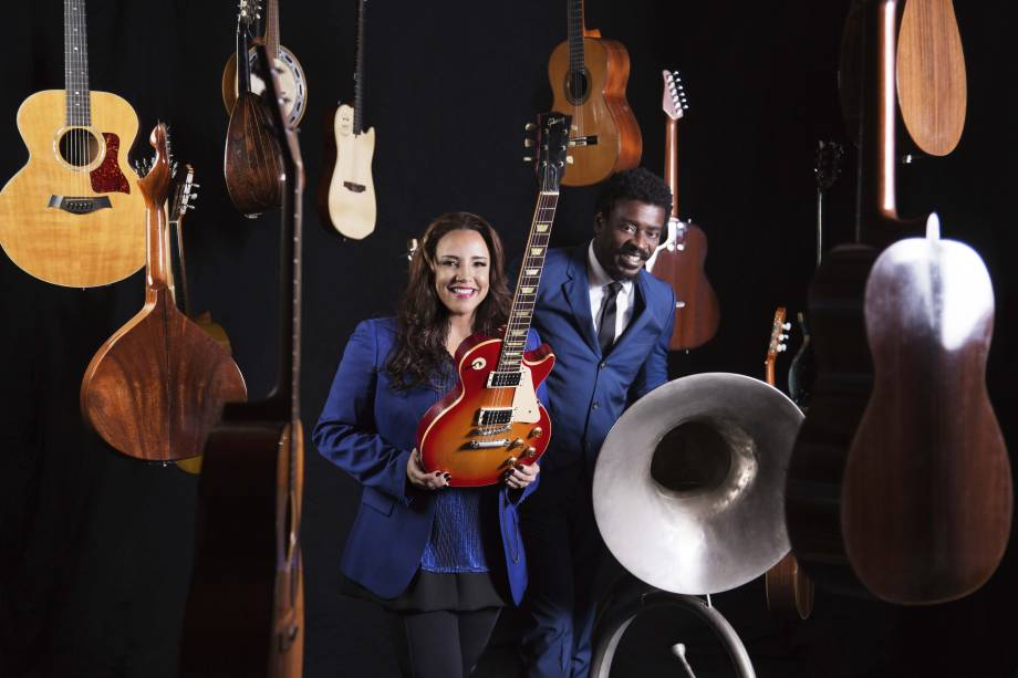Ana Carolina e Seu Jorge: a dupla retoma a parceria no novo FM Hall