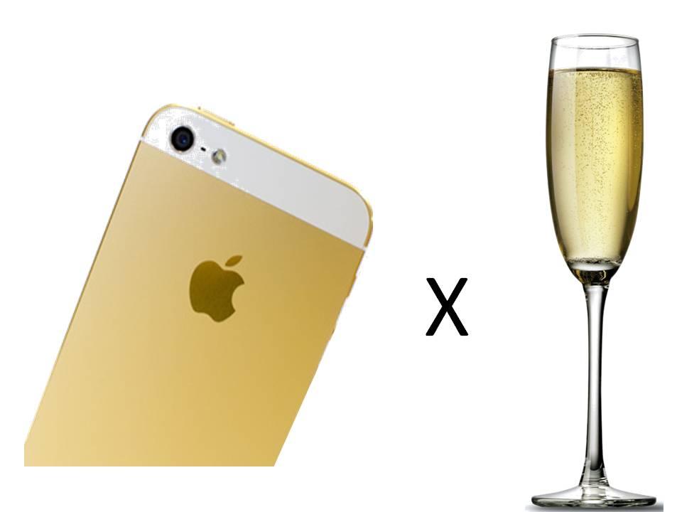 Apple X Champagne