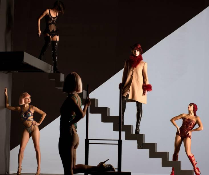 Belle: espetáculo de Deborah Colker, baseado em Belle de Jour, livro do franco-argentino Joseph Kessel, adaptado para o cinema em A Bela da Tarde (1967), de Luis Buñuel