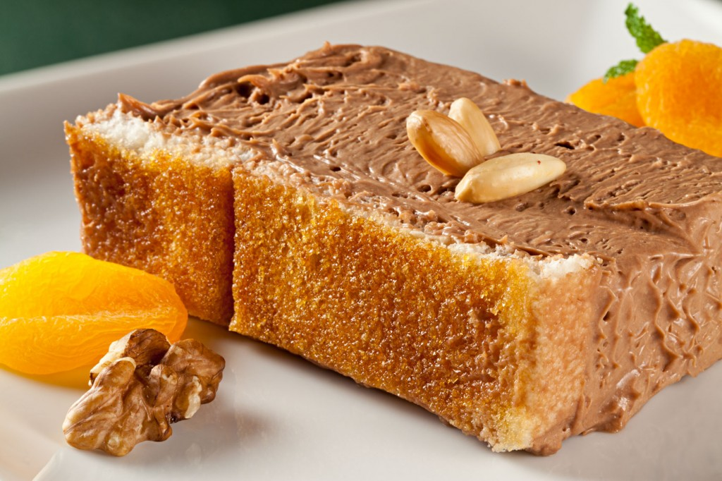 Para adoçar: bolo de panetone com musse de chocolate belga de Andrea Tinoco (foto: Rodrigo Azevedo)