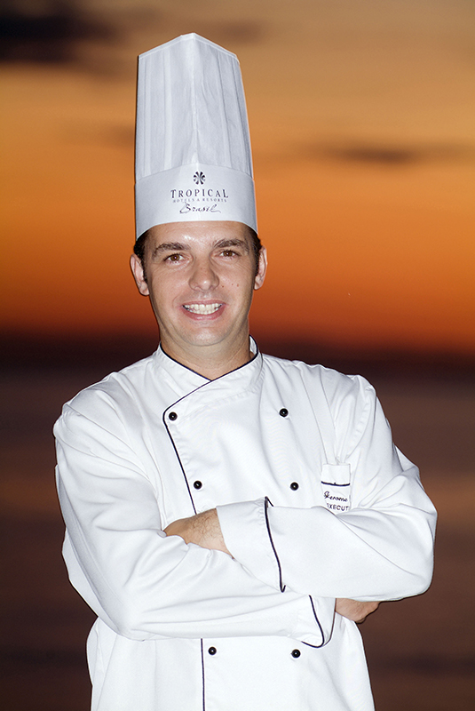 Jerome Dardillac, chef executivo do restaurante Karu Grill, do Hotel Tropical.