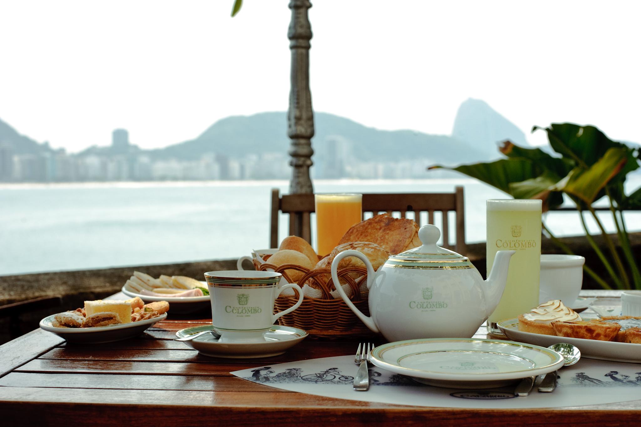 Café com vista: na Colombo do Forte
