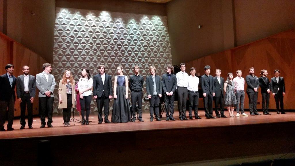 Os dezenove candidatos do V Concurso Internacional BNDES de Piano: berço de talentos da música