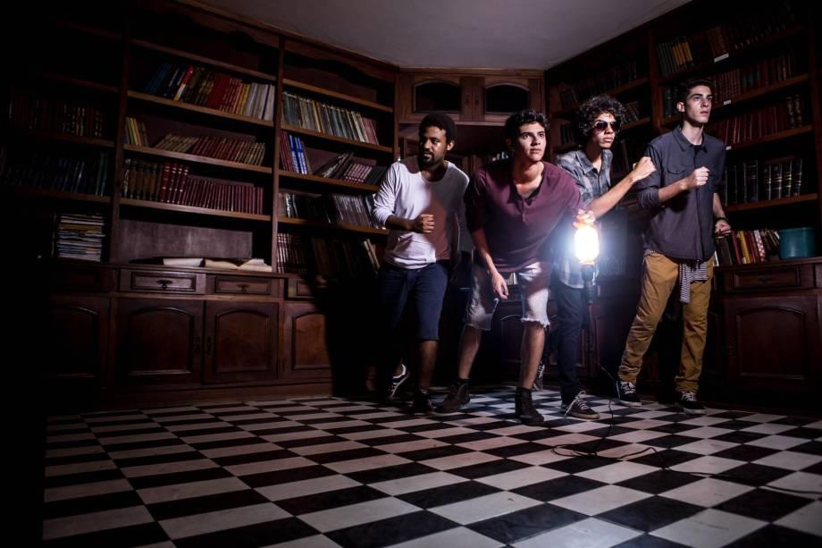 A banda Cândido: atração do Rio Novo Rock, no Imperator
