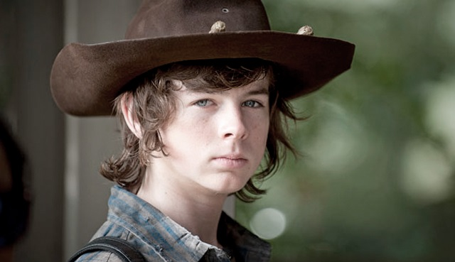 chandler riggs carl the walking dead