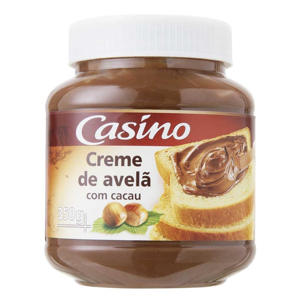 Creme de Avelã com Cacau Casino
