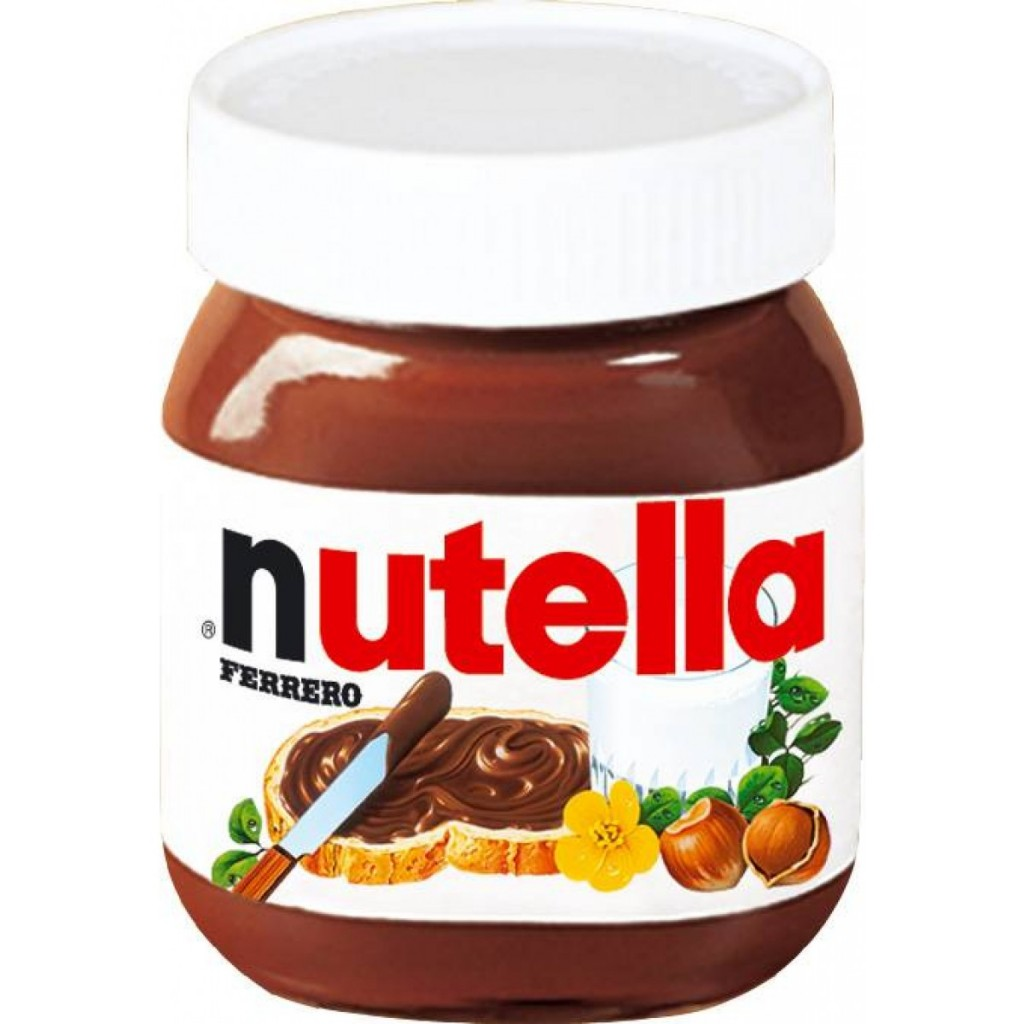 Creme de avelã e chocolate Nutella
