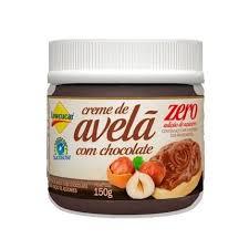 Creme de avelã e chocolate zero lowçúcar