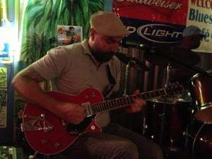 Cristiano Crochemore tocando em Clarksdale: no berço do blues