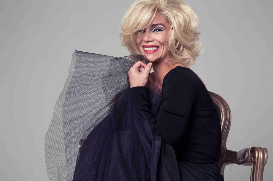 Danielle Winits: como Marilyn Monroe