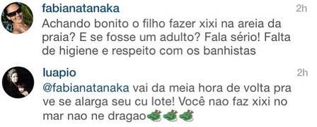 dialogo luana instagram