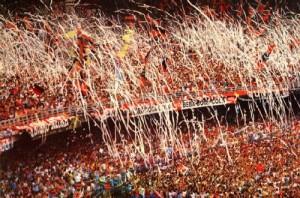 Maracanã cheio para o duelo da semifinal de 1987