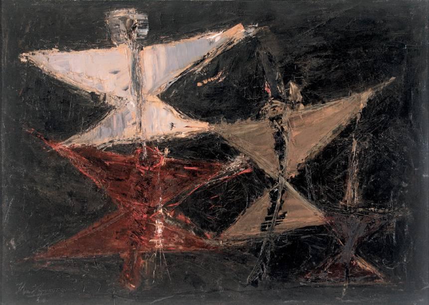 Ibere Camargo: Espaço com Carretéis  (1960)