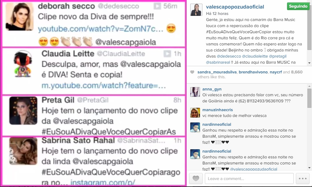 instagram valesca popozuda