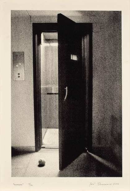 Obra de José Damasceno: em coletiva que aborda as relações entre arte, imagem e psicanálise