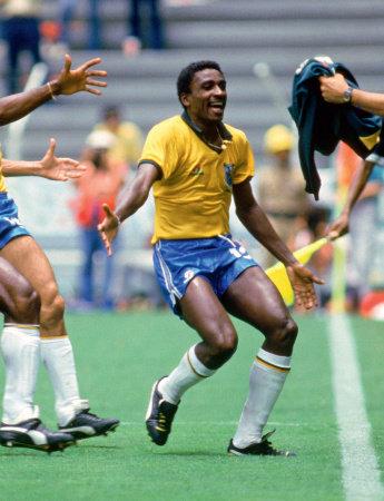 Na Copa de 1986 Josimar teve muito o que comemorar
