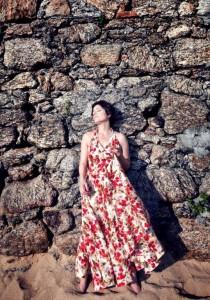 A cantora em foto de Leonardo Aversa: tango na quinta (22), no Rival, e música brasileira a vida inteira