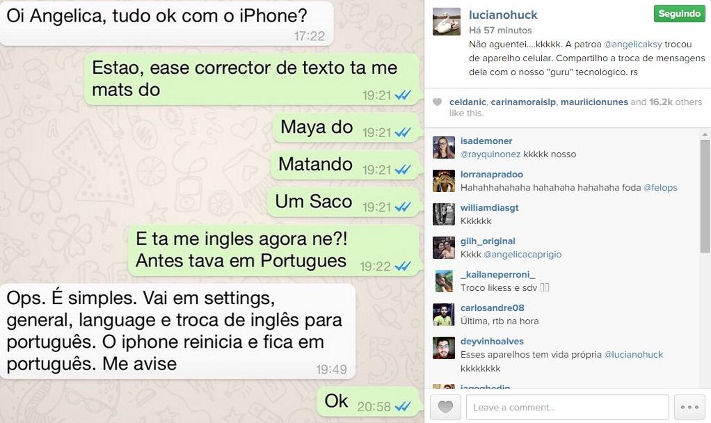 luciano huck instagram