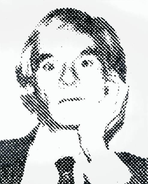 Andy Warhol (2000): obra de Vik Muniz